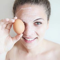 Вред масок из сырых яиц