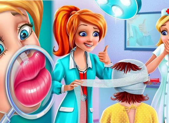 """Игры не для детей, приложения для смартфонов """"пластическая хирургия"""""""
